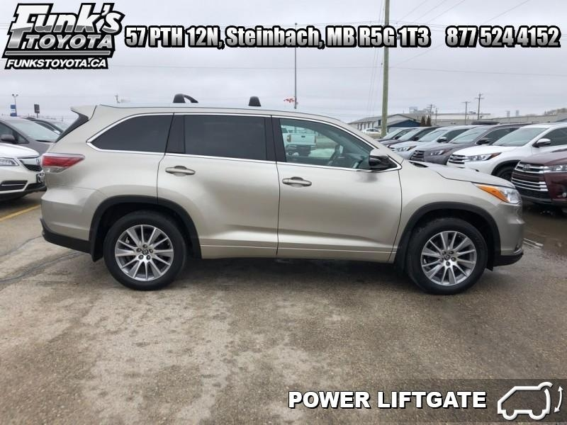 2016 Toyota Highlander For Sale >> 2016 Toyota Highlander For Sale In Steinbach Used Toyota Sales
