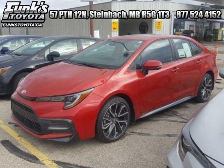 2020 Toyota Corolla SE Upgrade Package