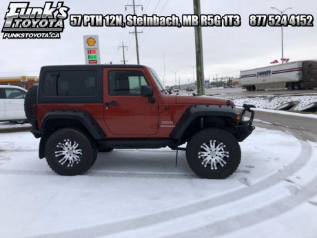 2014 Jeep Wrangler 2DR 4WD SPORT