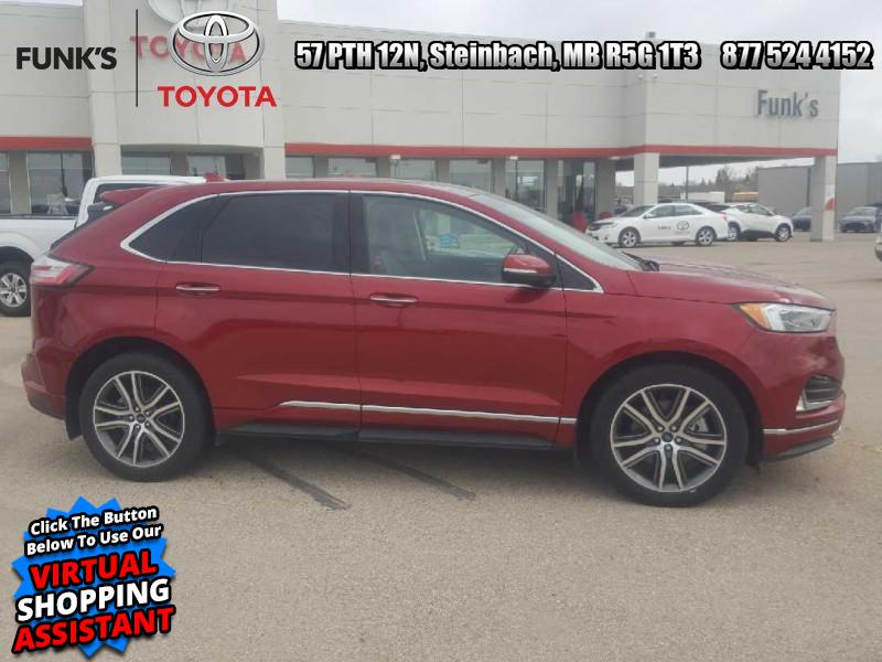 2019 Ford Edge Titanium AWD (K-159A) Main Image